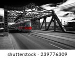 on the bridge iconic shot of... | Shutterstock . vector #239776309