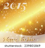 christmas and new year 2015... | Shutterstock .eps vector #239801869