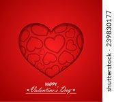 valentine s day background | Shutterstock .eps vector #239830177
