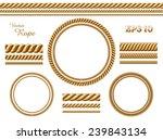 vector rope template | Shutterstock .eps vector #239843134