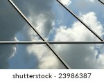 window detail of a modern... | Shutterstock . vector #23986387
