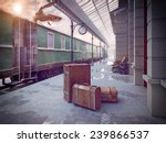 Luggage On The Retro Railway...