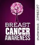 breast cancer   Shutterstock .eps vector #239882197
