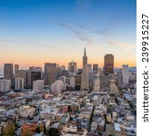 beautiful view of  business... | Shutterstock . vector #239915227