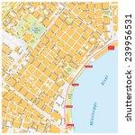 new orleans french quarter | Shutterstock .eps vector #239956531