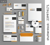 classic stationery template... | Shutterstock .eps vector #239974171