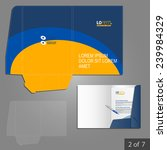 folder template design for... | Shutterstock .eps vector #239984329