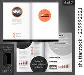 classic vector brochure... | Shutterstock .eps vector #239992321