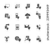 information security data... | Shutterstock .eps vector #239993449