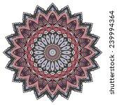 hand drawing ornamental... | Shutterstock .eps vector #239994364