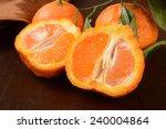 Sliced Sumo Oranges  A Wrinkly...