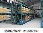 inside of the warehouse | Shutterstock . vector #240080557