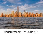 Beautiful View Of Manhattan At...