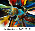 colors of the mind series.... | Shutterstock . vector #240129121