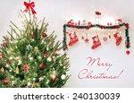merry christmas   Shutterstock . vector #240130039