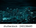 downtown toronto.    Shutterstock . vector #240138685