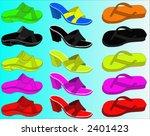 slipper | Shutterstock .eps vector #2401423