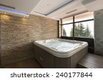 Jacuzzi Bath In Hotel Spa...