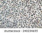 black and white big pebble rocks | Shutterstock . vector #240234655