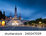 view of the main church in... | Shutterstock . vector #240247039