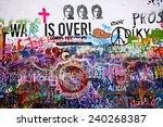 Lennon Wall In Prague\'s Lesser...