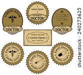 banners  labels  icons  signs... | Shutterstock . vector #240273625