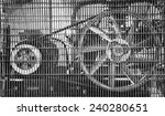 big industrial fan in a factory | Shutterstock . vector #240280651