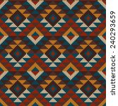 tribal aztec seamless pattern...