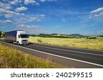 rural landscape with road you... | Shutterstock . vector #240299515