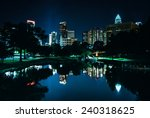 The Charlotte Skyline Seen At...