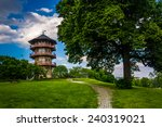 the pagoda at patterson park in ... | Shutterstock . vector #240319021