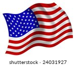flag of the united states of... | Shutterstock . vector #24031927