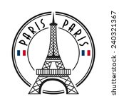 paris city | Shutterstock .eps vector #240321367