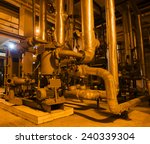 equipment  cables and piping as ... | Shutterstock . vector #240339304