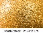 christmas background. golden... | Shutterstock . vector #240345775