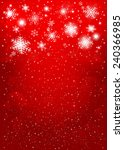 red christmas background ... | Shutterstock . vector #240366985