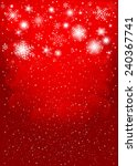 red christmas background ... | Shutterstock . vector #240367741