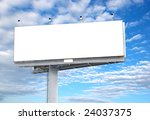 place your text here   empty ad ... | Shutterstock . vector #24037375