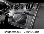 modern car stereo with usb... | Shutterstock . vector #240400585