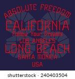 california graphic design... | Shutterstock .eps vector #240403504