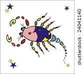 zodiac   scorpio   Shutterstock .eps vector #24041140