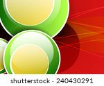 red abstract background with... | Shutterstock .eps vector #240430291