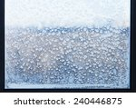 Snowflakes And Frost Pattern O...