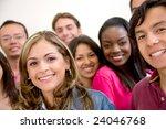 multi ethnic group of...   Shutterstock . vector #24046768