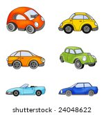 toy cars   Shutterstock . vector #24048622