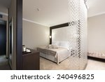bedroom interior | Shutterstock . vector #240496825