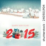 holiday background with... | Shutterstock .eps vector #240501904