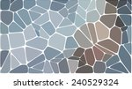abstract colorful mosaic pattern | Shutterstock .eps vector #240529324
