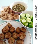 thai north food.   Shutterstock . vector #240586324