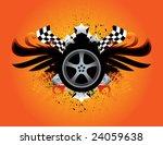 race rim | Shutterstock .eps vector #24059638